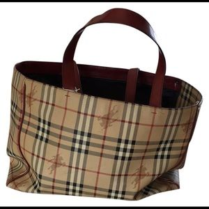 Burberry London Dog Carrier tote